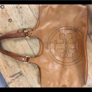 Tory Burch Leather Tote!